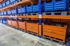 Металлическая тара для складов