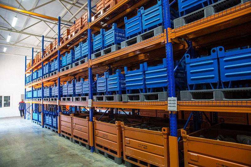 Металлическая тара для складов у производителя