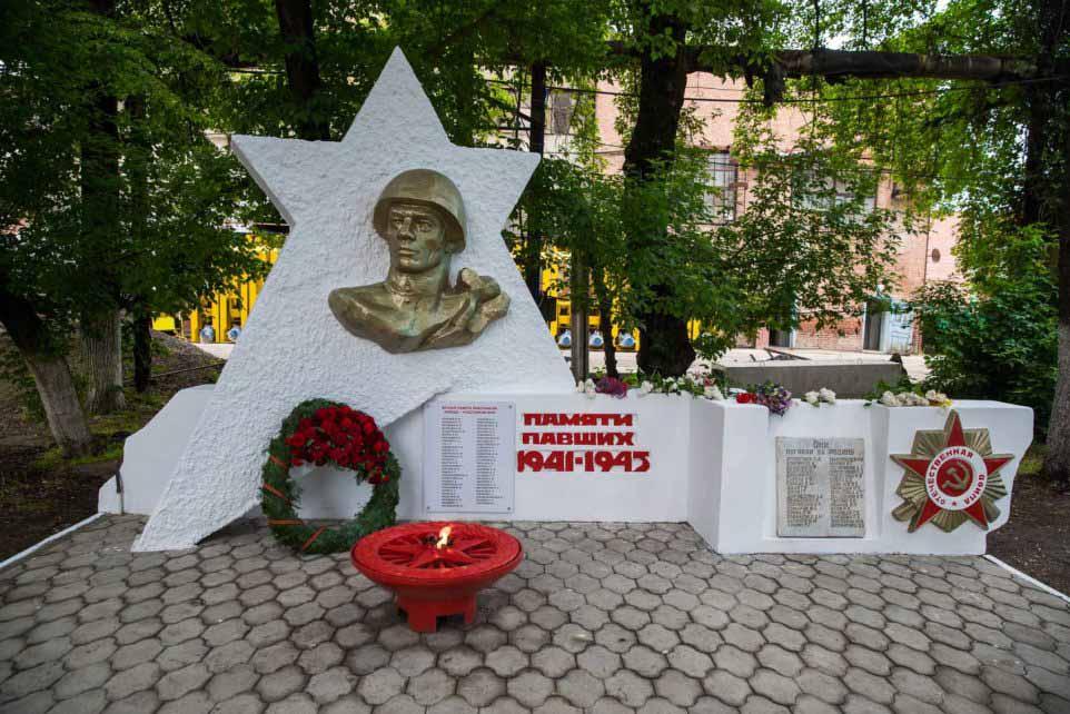 Великой Отечественной войне на заводе «Кубаньжелдормаш»