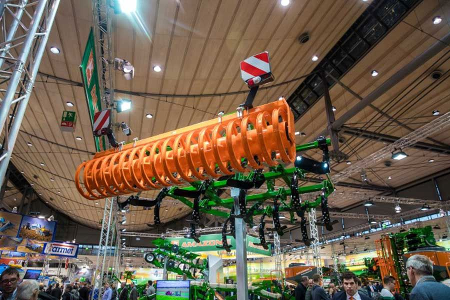 Выставка сельскохозяйственных машин