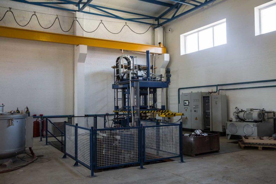 производство алюминия под низким давлением