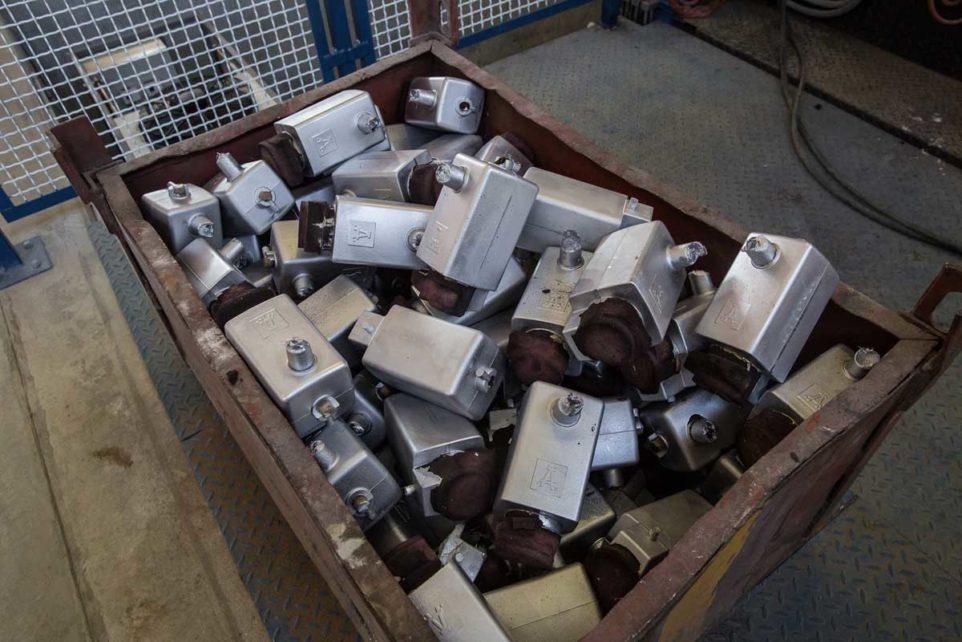 Литье алюминия на заводе