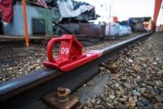 Башмаки тормозные для поездов