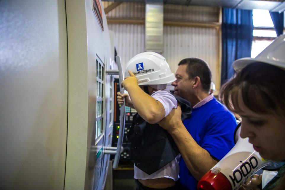 экскурсия на заводе Кубаньжелдормаш