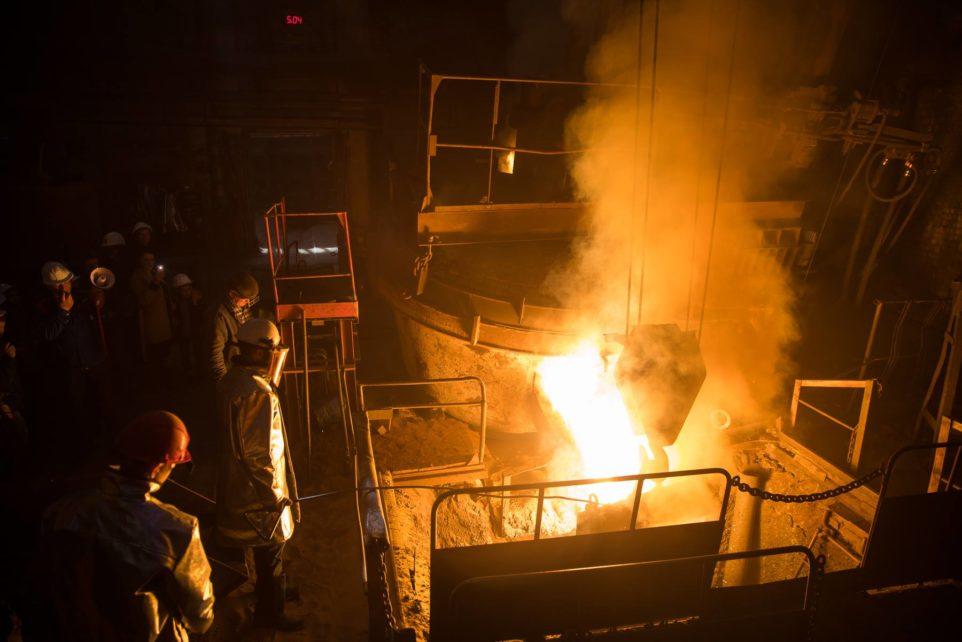 экскурсия по заводу литейка