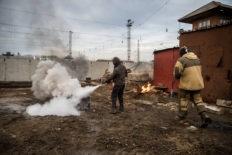 противопожарная тренировка тушение пожара современными средствами