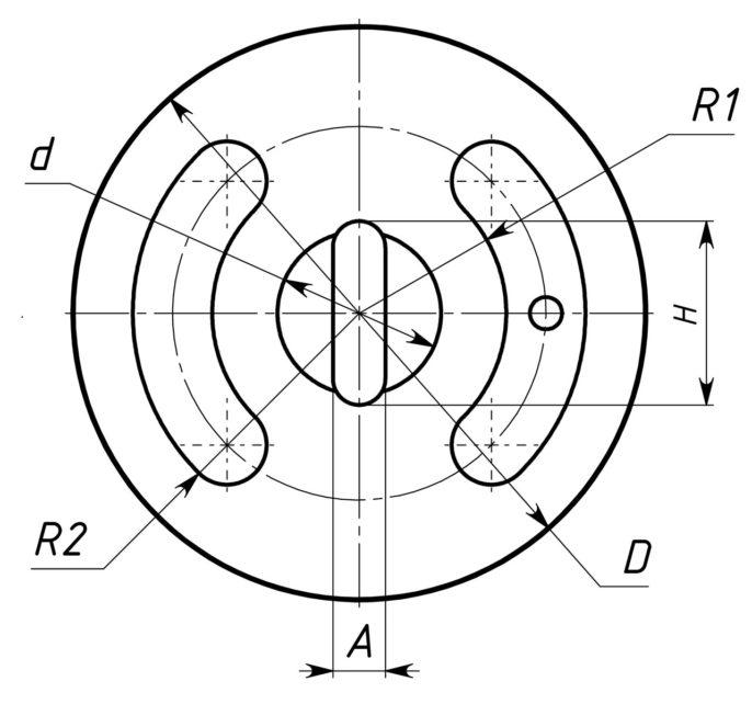 крышки трехходовых кранов