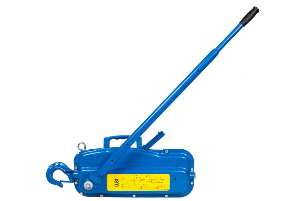 Ручные рычажные лебедки ЛРП, монтажно-тяговый механизм