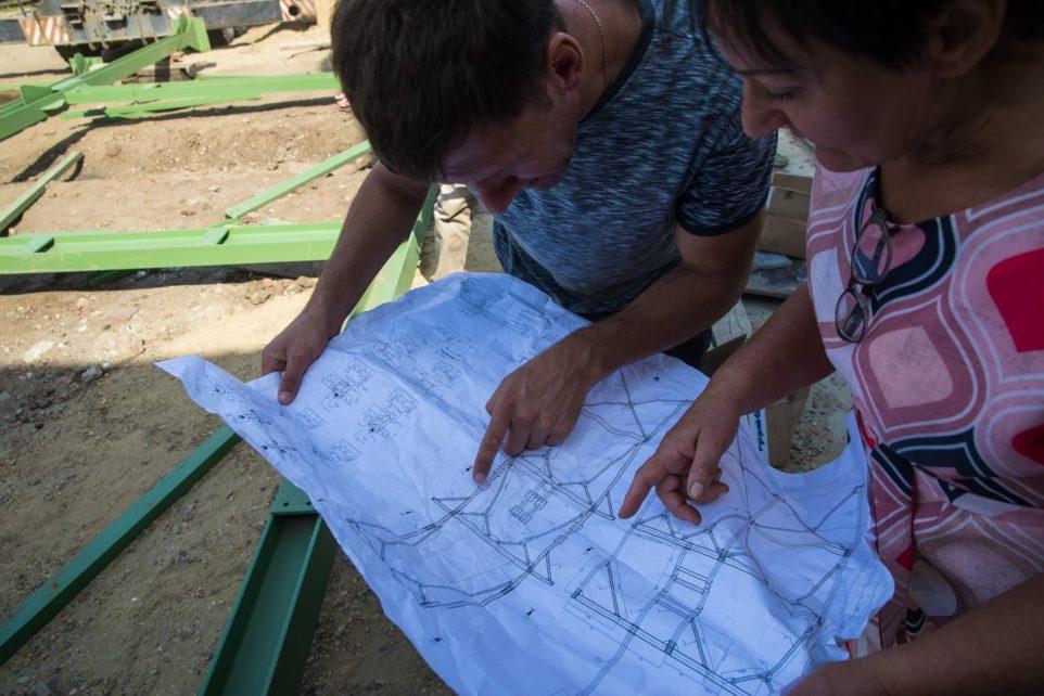 строительство нового корпуса завода