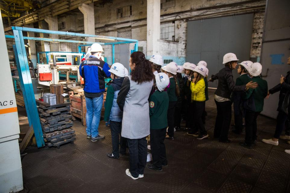 экскурсия по машиностроительному заводу