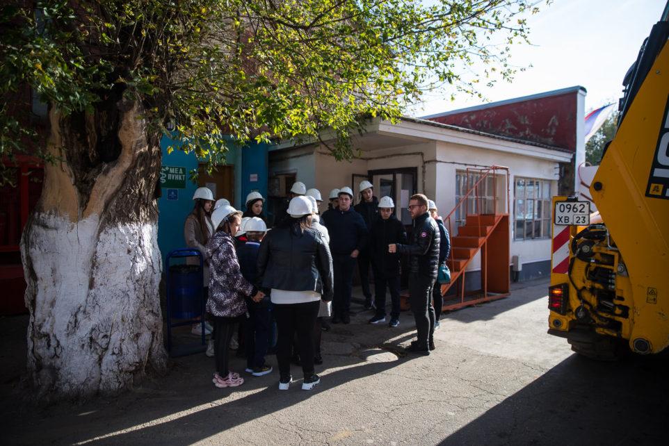 экскурсия на завод школьники
