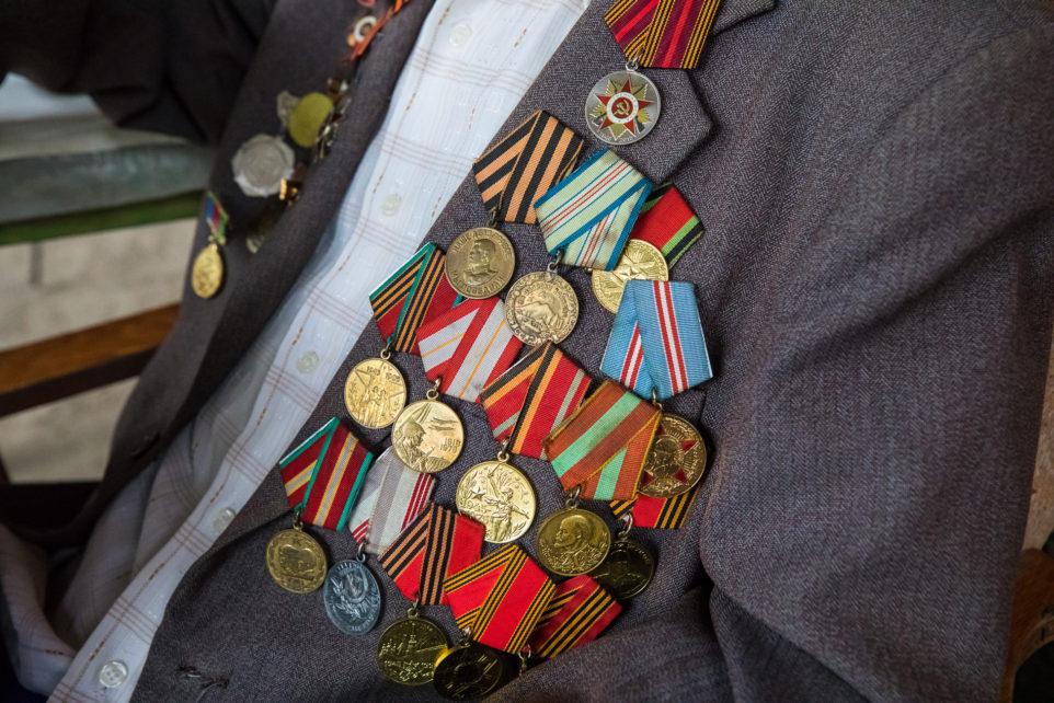 медали участника ВОВ