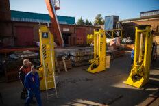 домкратные установки отгрузка на Сахалин