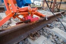 шлифовка реконструкция рельсового пути