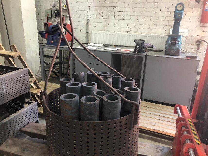 термическая обработка металла детали