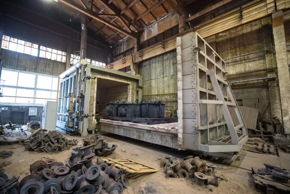 25-тонная отпускная печь Tachtech (Чехия)