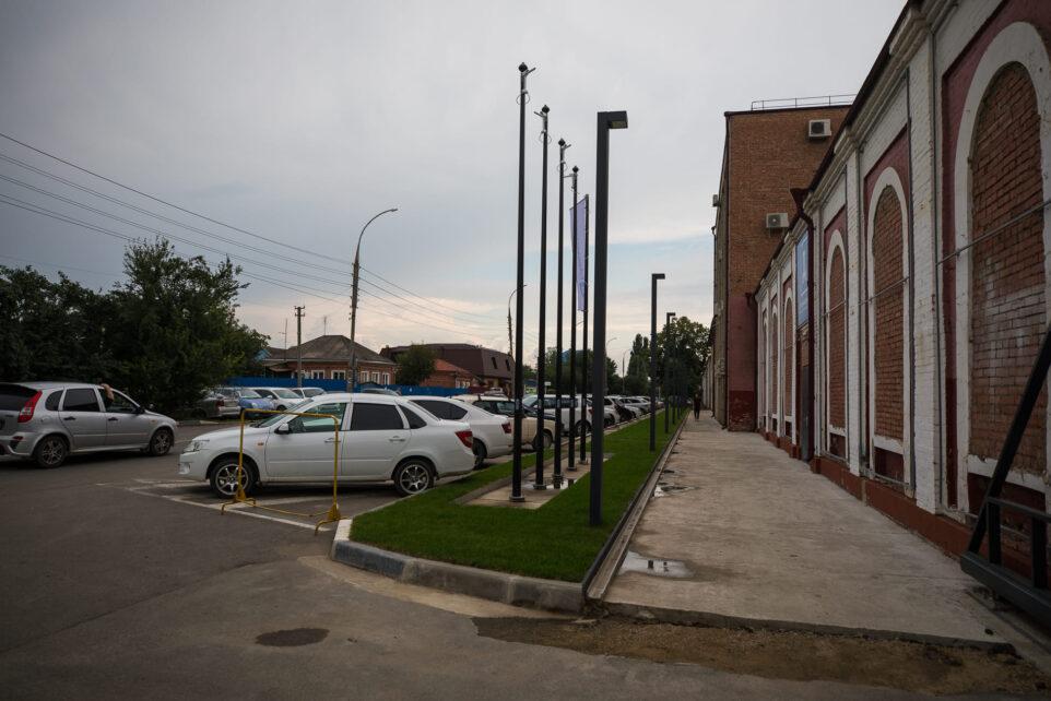 Новый газон на Маркова