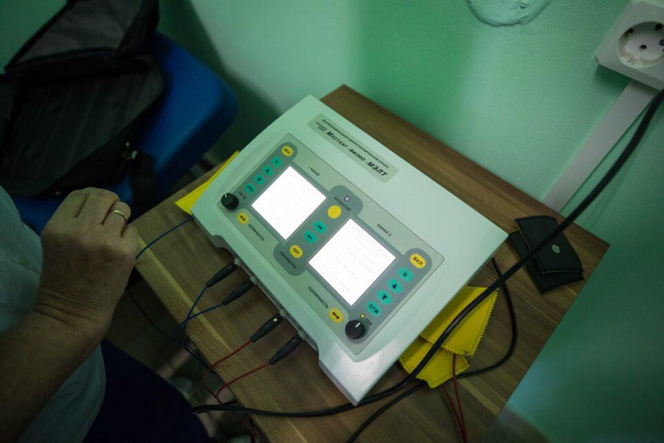 КЖДМ новый электротерапевтическйи аппарат