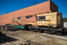 ЖДМ Новый железнодорожный кран